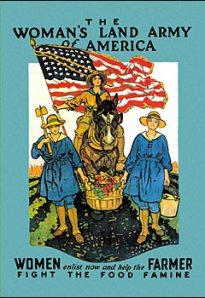 Woman's Land Army of America Poster