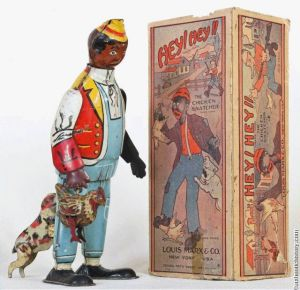 Chicken snatcher toy from the 1930's